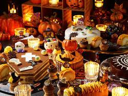 秋の味覚満載ハロウィンブッフェ