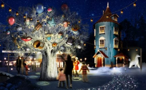 WINTER WONDERLAND in MOOMINVALLEY PARK EMPOWERED BY CALAR.ink