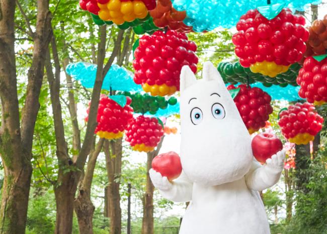 バルーンスカイ「りんごの森」